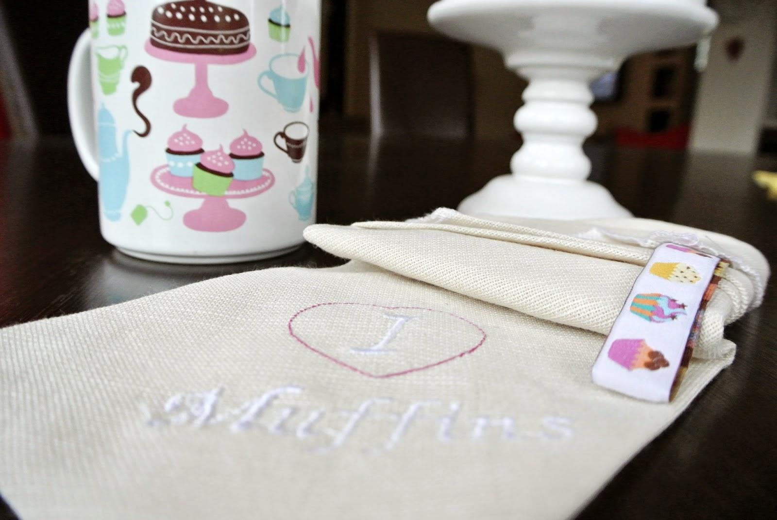Muffins,mufinki,donuts,ściereczka kuchenna,szmatka,ładne ściereczki,piękne wnętrze