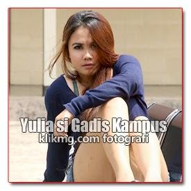 Yulia Model Bandung - Gadis Kampus yang Seksi, Kinclong dan Seksi Abiss, Mulussssss