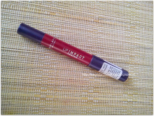 Oriflame Lip Impact Crayon -Deep Berry Review