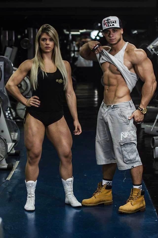 Léo Stronda e Roberta Zúñiga juntos em sessão de fotos. Foto: Arquivo pessoal