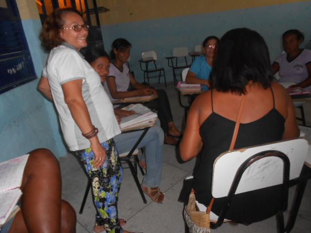 Em sala de aula