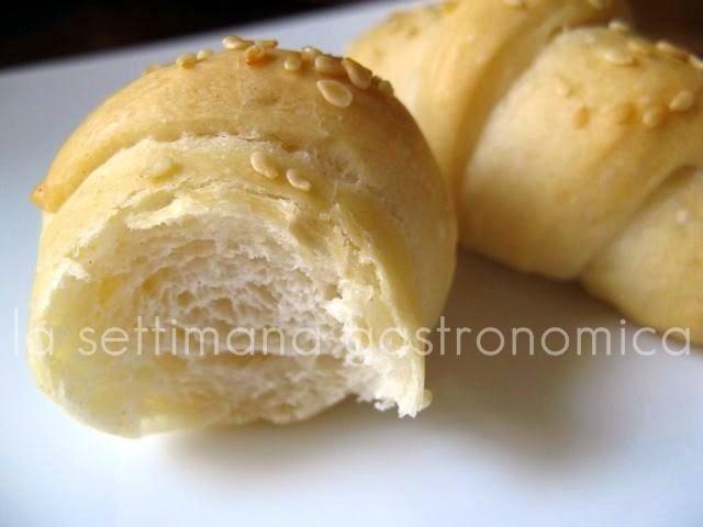 Cornetti di pane