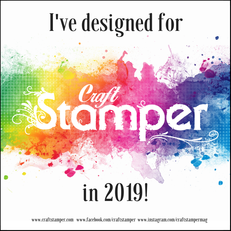 So happy and proud to be designing for Craft Stamper