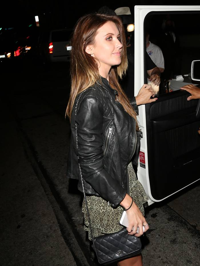 Audrina Patridge Leaving a Nightclub in West Hollywood