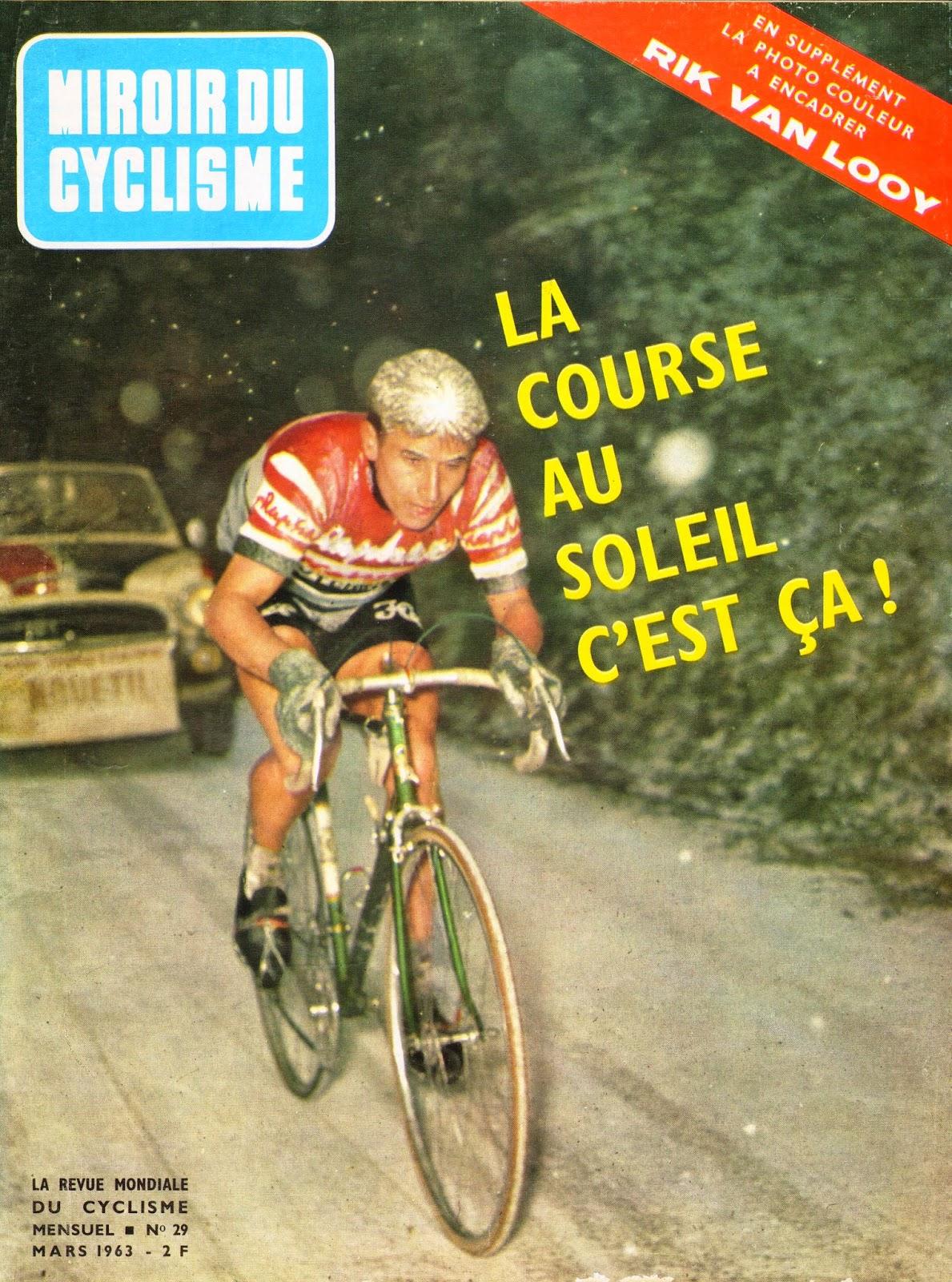 Mon tour de france 1959 la suite anquetil la une de for Miroir du cyclisme