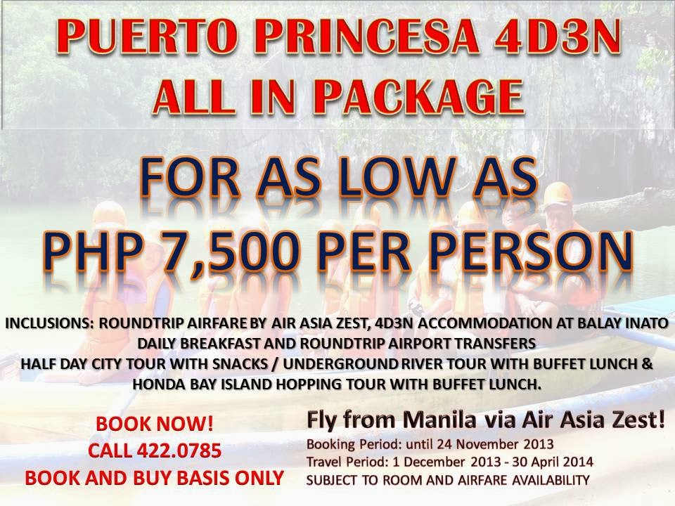 4D3N Puerto Princesa ALL In Package