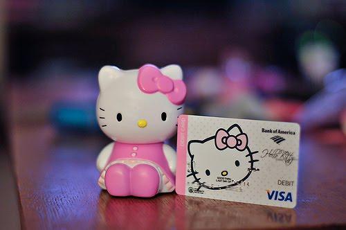 Bank Of America Card Designs Hello Kitty Debit