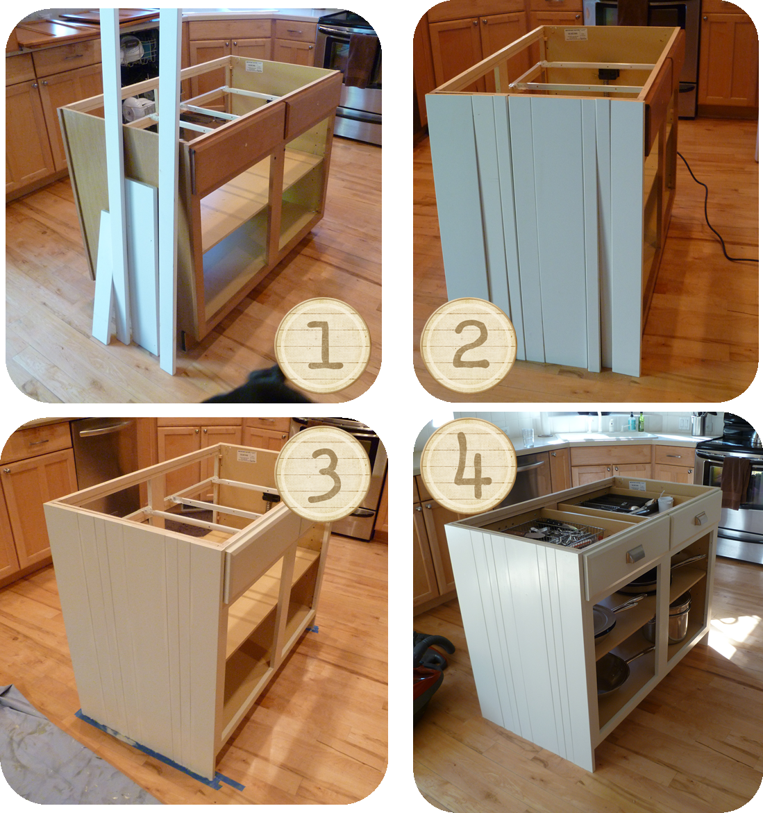 My suite bliss diy kitchen island re do for Kitchen design diy