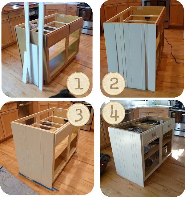 My Suite Bliss: DIY: Kitchen Island Re-