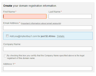 Godaddy registration