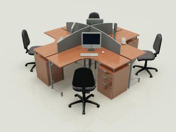 Disenho y muebles muebles de oficina modulares for 5 muebles de oficina