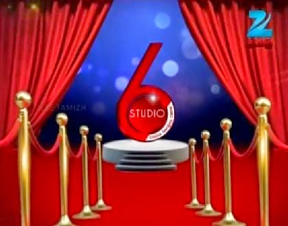 Studio 6 Zee Tamil Tv Show 15-06-2014 Episode 62