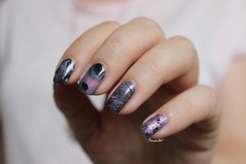 Watermarble holo – Pshiiit inspiration ♥