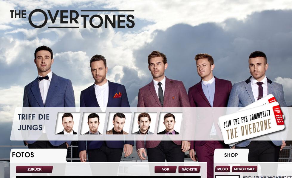 "Hinter ""Gambling Man"" steht die Band ""Overtones"" aus England. Screenshot: Nico Lindner"