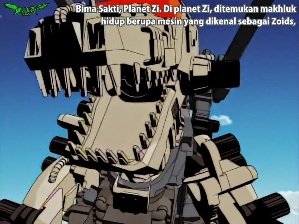 Dubbed Anime Cartoon Android APP Zoids Genesis Episode 20 16 12 Chaotic Century