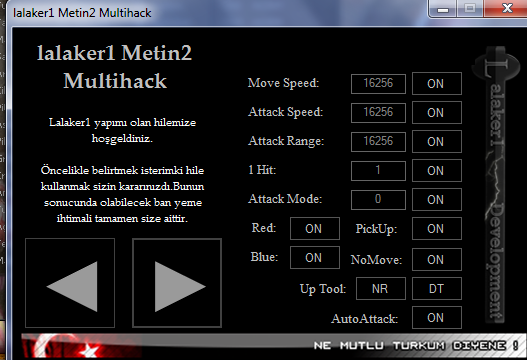 Metin2 lalaker TR Multihack Hile Botu Güncel Versiyon 2013 indir