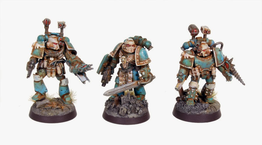 Pre Heresy Alpha Legion Praetor and Apothecaries