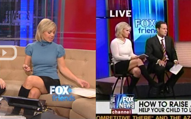 The Gretchen carlson fox news upskirt pic scenes and