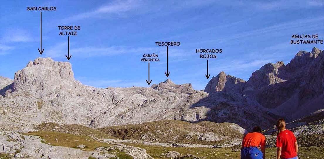 Vistas desde el mirador del Cable-Picos de Europa