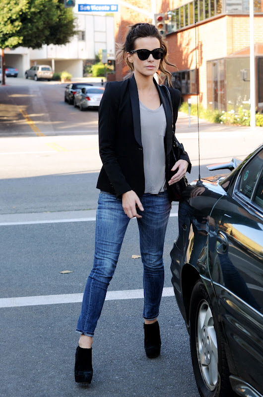 Kate Beckinsale out in LA running some errands