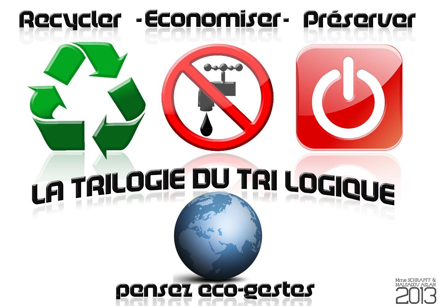 Célèbre Blog LLA: Mon Lycée Eco-Responsable UX38