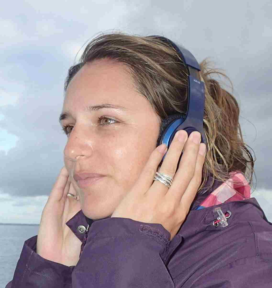 Julie Mellinger, biologiste-animatrice