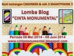 http://cintamonumental.blogspot.com/2014/05/lomba-blog-2-tantangan-untuk-2.html?showComment=1400203054150#c8591245993175359014