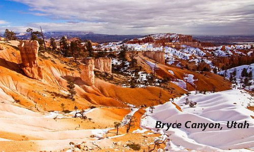 Multi colored rocks of Bryce Canyon National Park