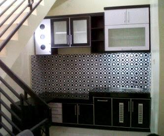 Kitchen set  Mas M. Noer Arifin D/A  Jl Timbul Jagakarsa