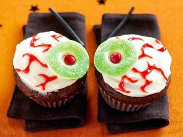 Healthiana spooky halloween cupcake decorations - Halloween decorations for cupcakes ...