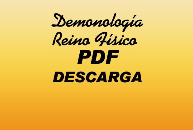 Demonología Reino Físico PDF