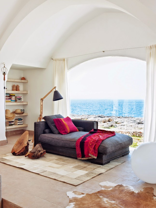 Spanish coastal home design