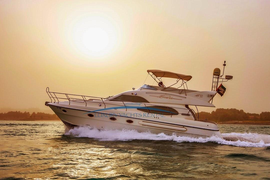 اليخوت الفخمة للرحلات البحرية في دبي
