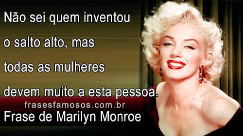 Frase de Marilyn Monroe