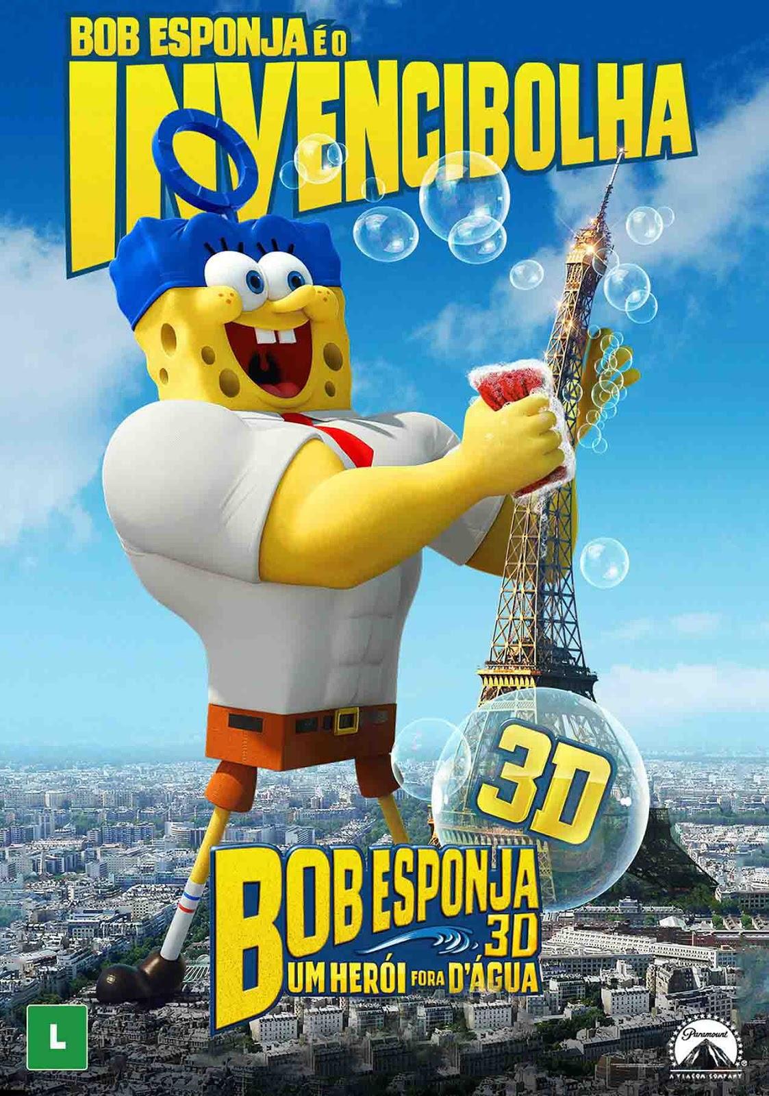 Bob Esponja: Um Herói Fora d'Água 3D Torrent - Blu-ray Rip 1080p Dublado (2015)