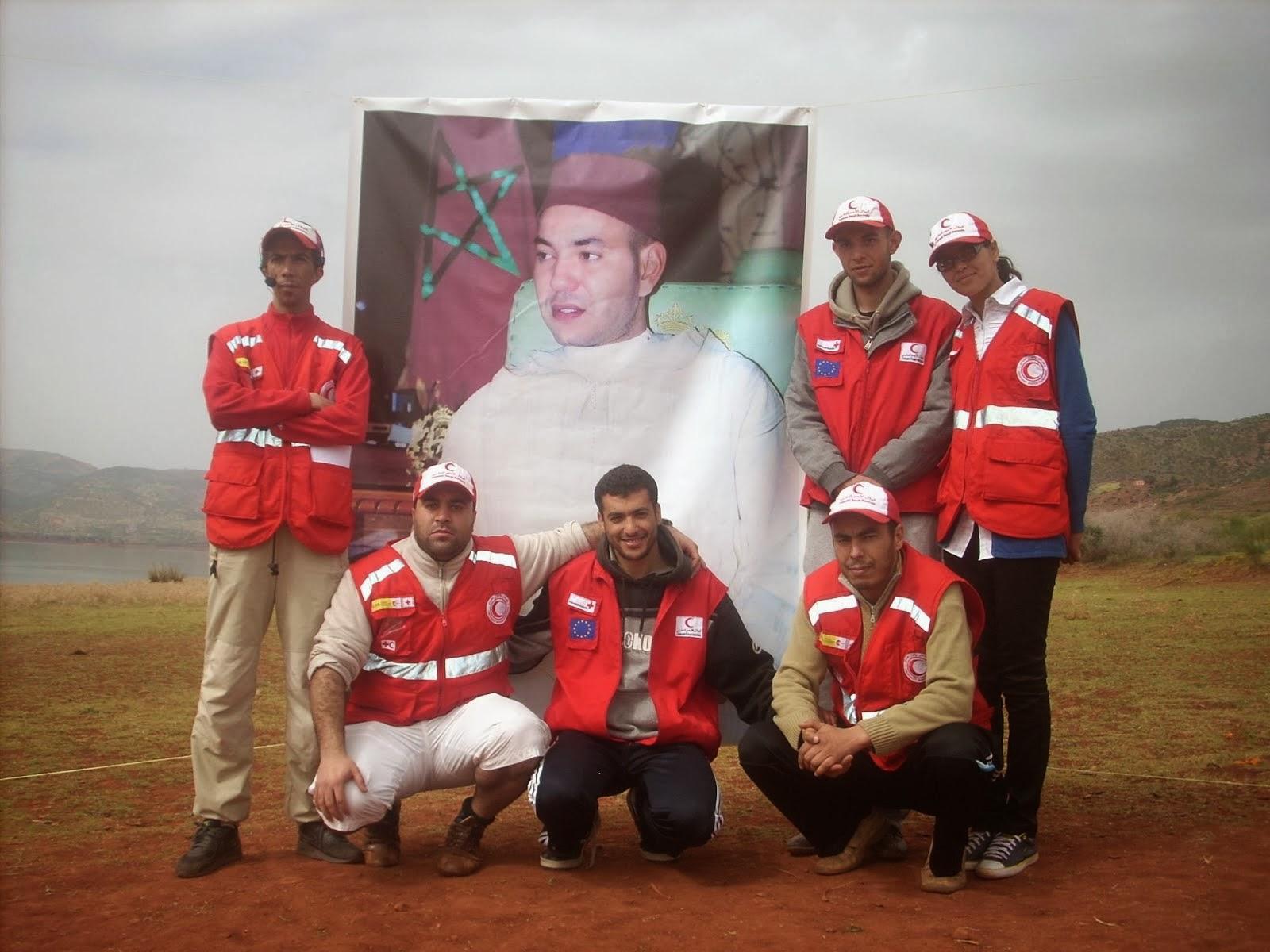 ألبوم صور متطوعو الهلال الاحمر المغربي بواويزغت