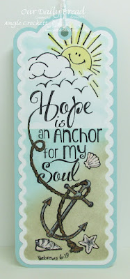 ODBD The Anchor, ODBD Custom Bookmarks Dies, Designer Angie Crockett