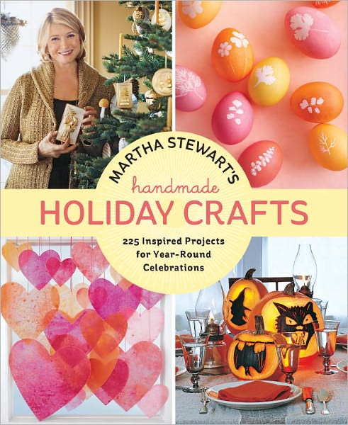Lavender rose ramblings martha stewart 39 s handmade holiday for Martha stewart xmas crafts
