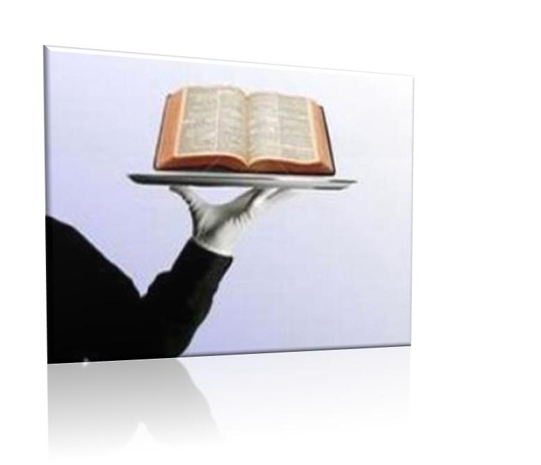 biblia na bandeja