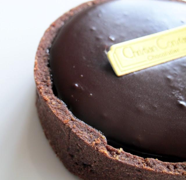 Pâtisserie Christian Constant Paris - Tarte au chocolat