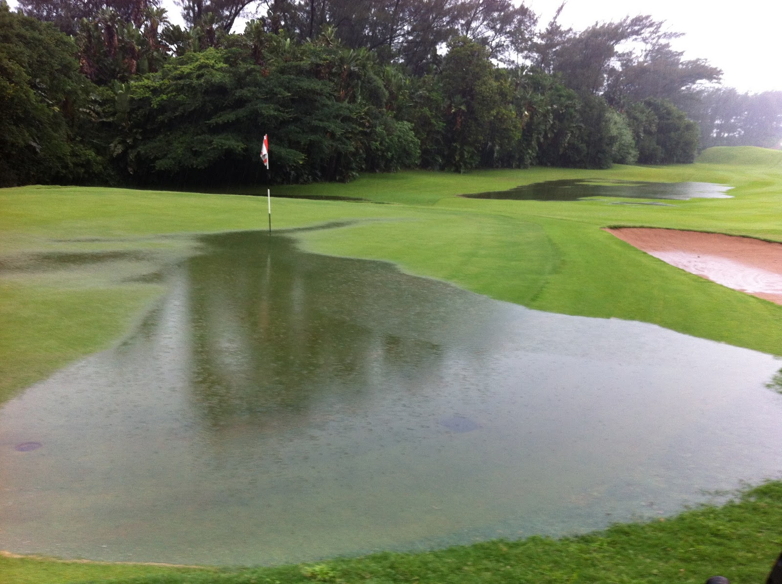 Durban Country Club Golf Course Why The Course Was Closed