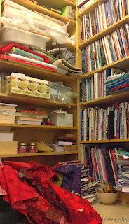 Fabric Stash Storage - Billy Bookcase IKEA