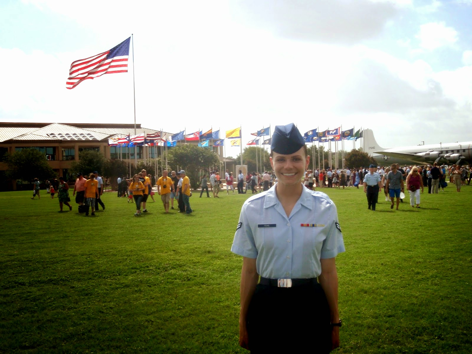 Air Force BMT Graduation Parade