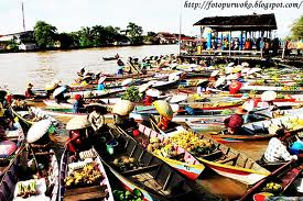 Pasar Terapung, Kalimantan Selatan