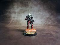 Kaplan Tactical Services Combi Rifle - Mercs - Infinity the Game 1-2