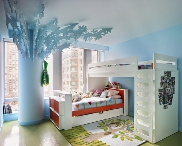 wall paint ideas for children's rooms