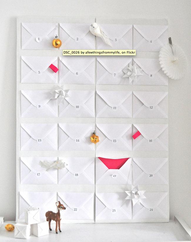 Minimalist Advent Calendar : Little minimalist diy advent calendars