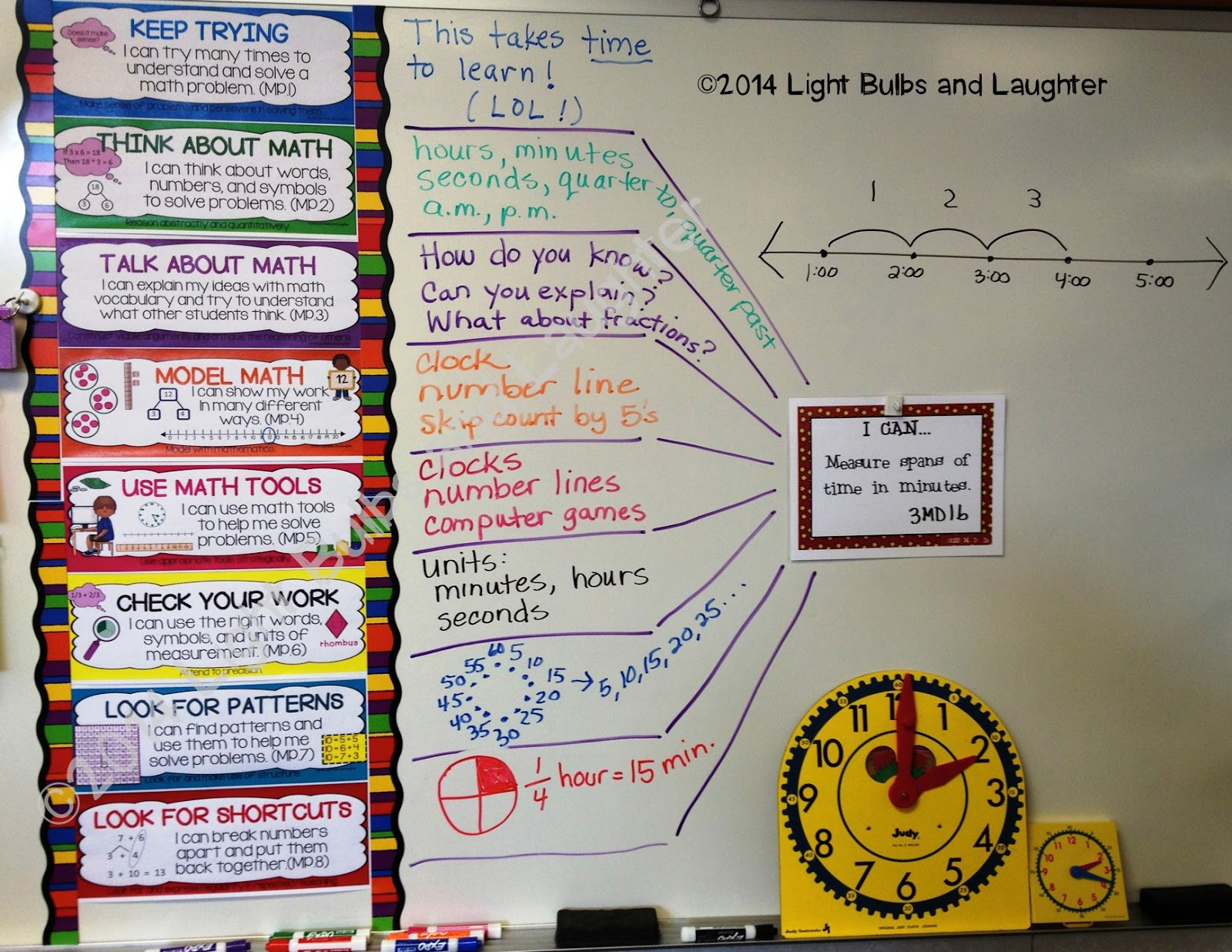 Light Bulbs and Laughter - Eight Standards for Mathematical Practice, Part 1