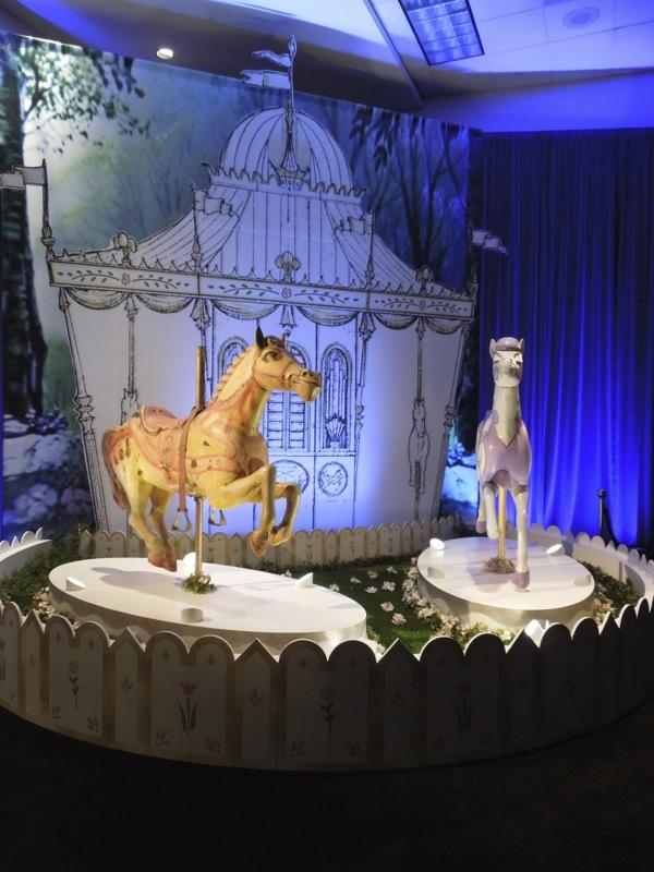 Original Mary Poppins merry go round horses