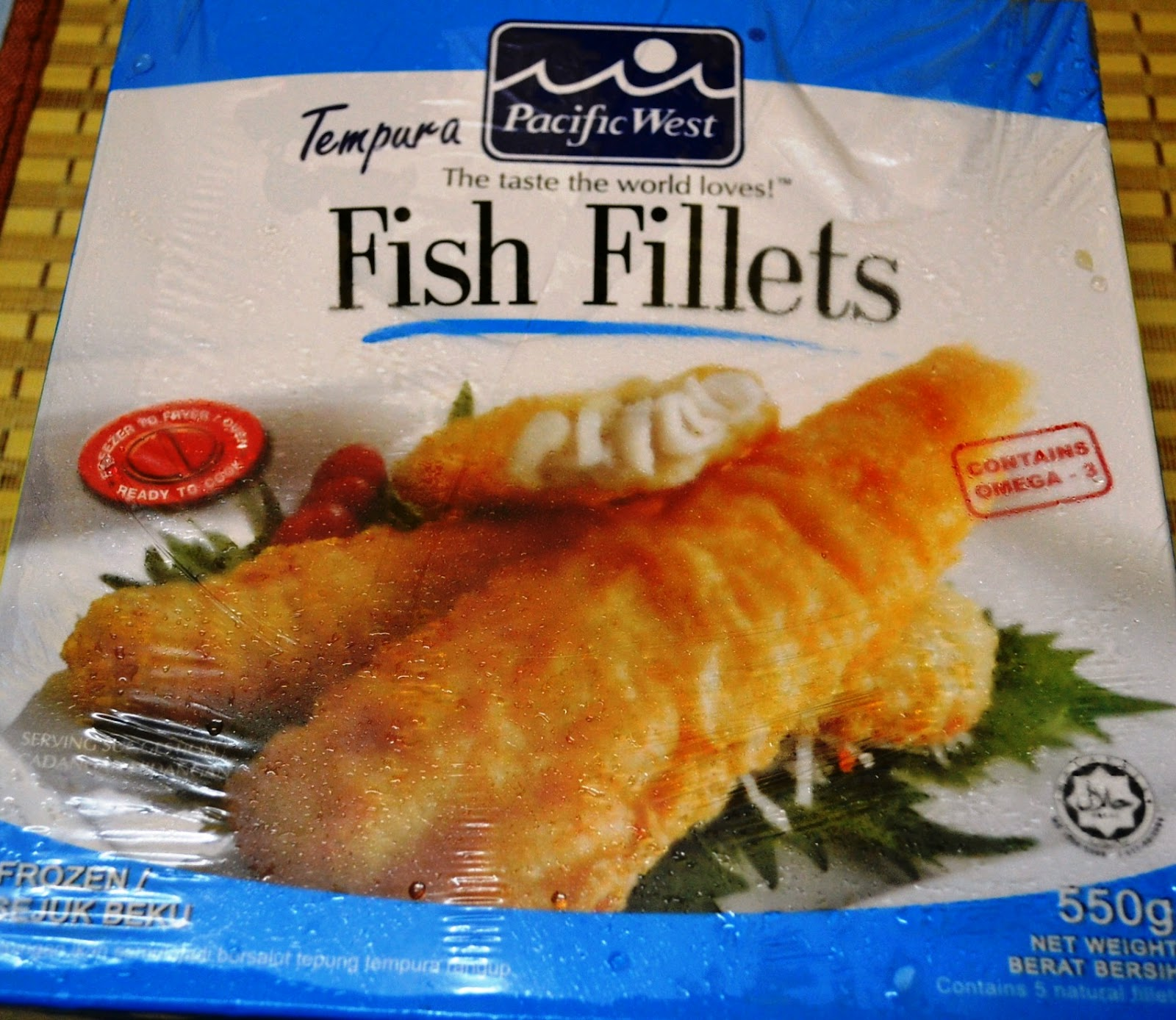 Food home sweet home tempura fish fillet with potato for Cooking fish fillets